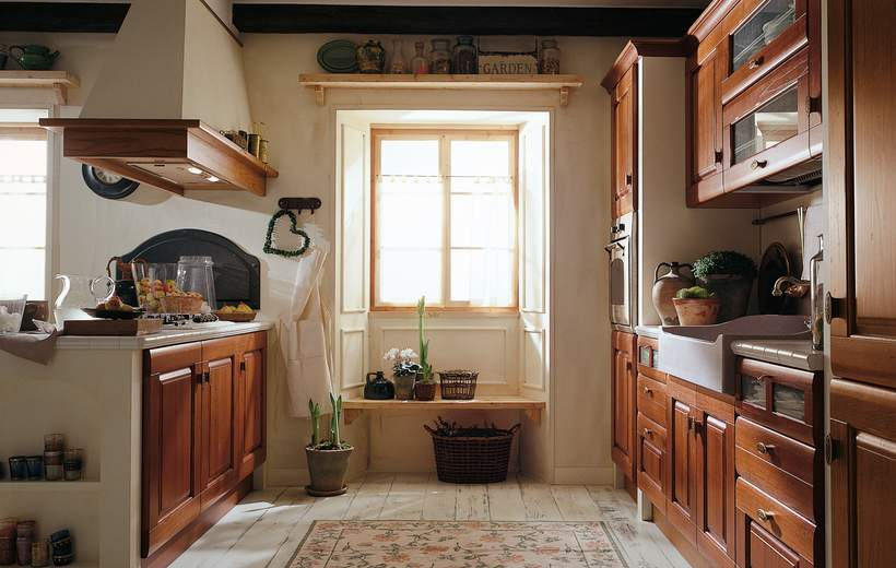 Cucina for Casa classica pesaro